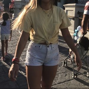 Brandy Melville Shorts - Brandy melville high rise shorts